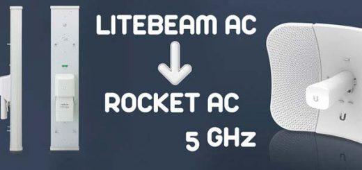CONECTAR Y CONFIGURAR ANTENA LITEBEAM AC Y ROCKET AC