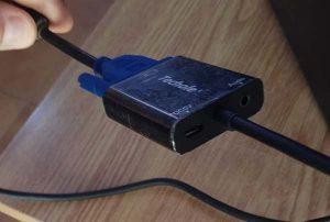 HDMI a VGA instalado 3