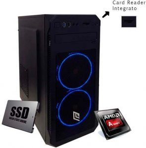 Ordenador Sombremesa Amd Cpu Quad-Core 3.10 GHz, 8Gb Ram ddr4, Ssd 240 Gb
