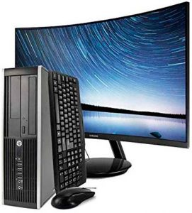 Hp Elite 8200 Sff con monitor curvo
