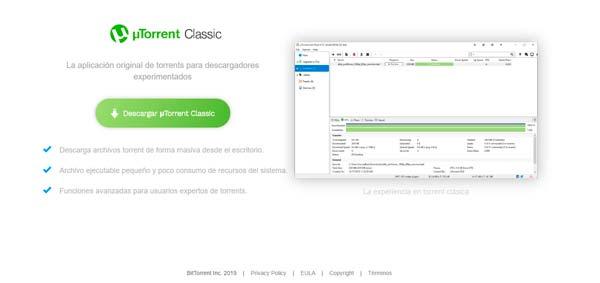 Utorrent descarga classic